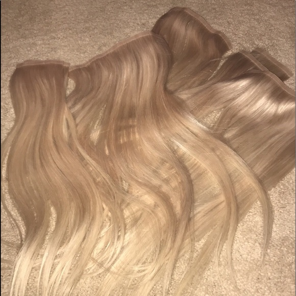 Glam Seamless Other Clip In Hair Extensions Poshmark